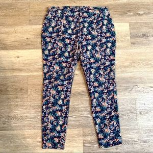 FADED GLORY Floral Capri Jeggings